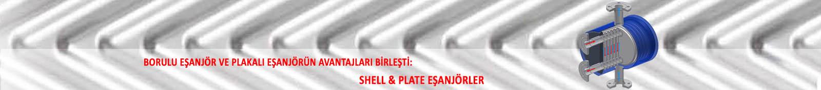 Shell-Plate Eşanjörler